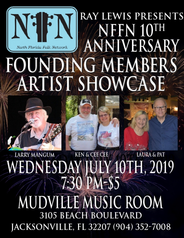 NFFN Artist Showcase at Mudville Music Room