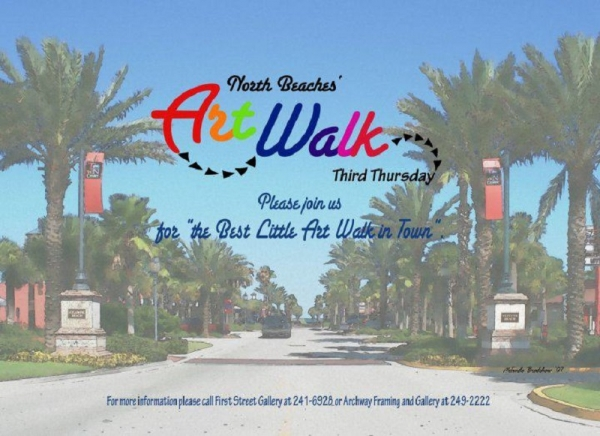 North Florida Folk Network Presents Music at North Beach Art Walk